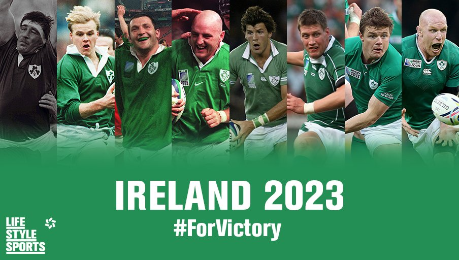 Here's to a party we would never forget. C'mon Ireland #ForVictory #Ireland2023 https://t.co/OWGrUM6NuW
