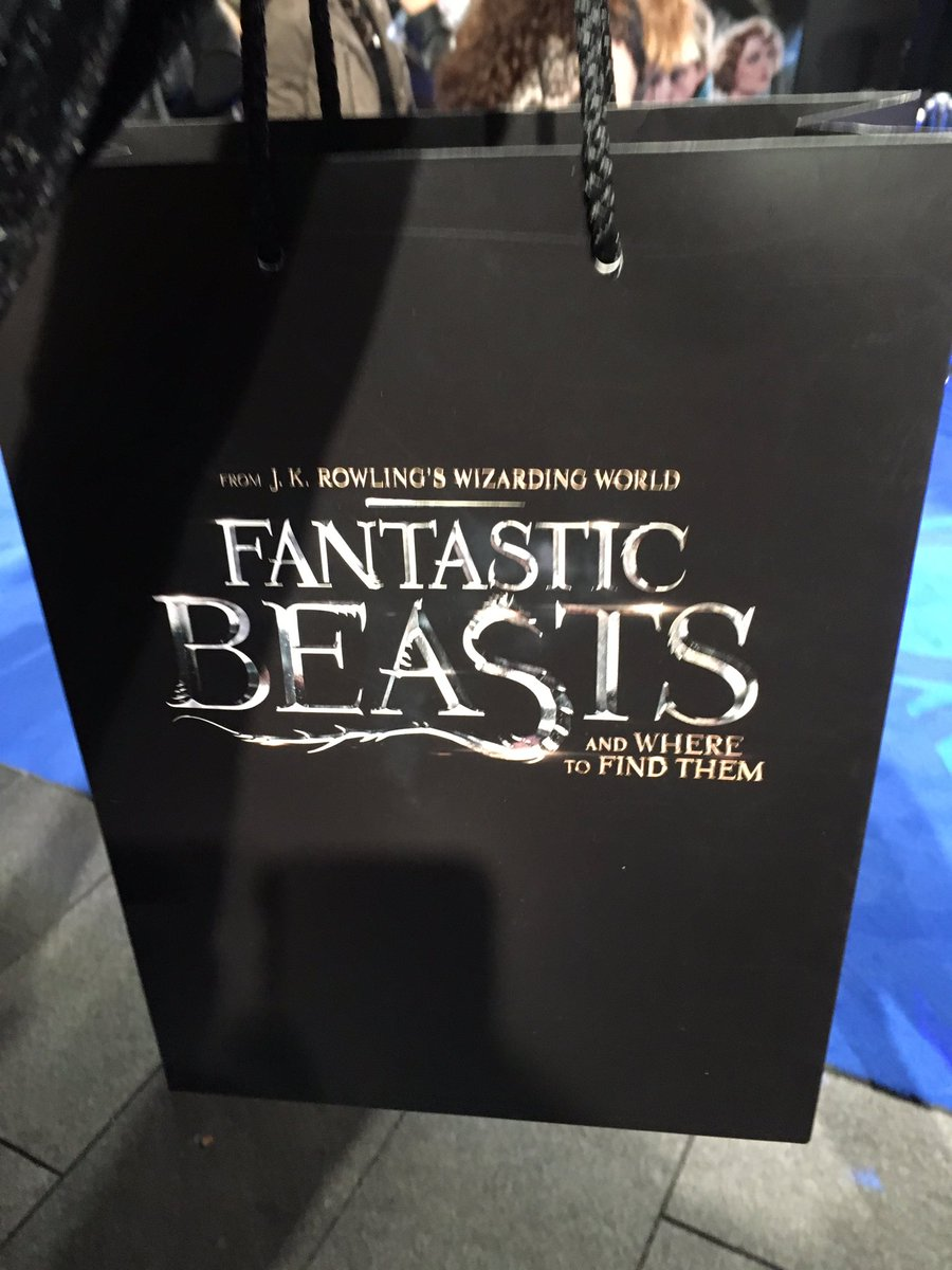 #PremiereDeAnimaisFantasticos: Premiere De Animais Fantasticos