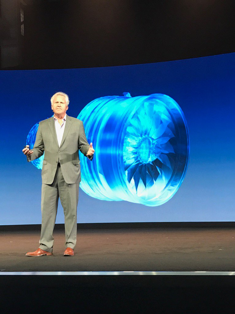 """"""" Our mission as a digital industrial is to bring unprecedented productivity to customers"""" @JeffImmelt #GEMM2016 https://t.co/bElbe1xlTr"""