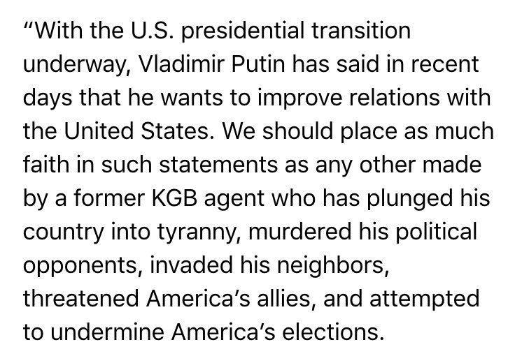 Partial McCain statement on Trump's talk with Putin https://t.co/1UHpOqDq6z