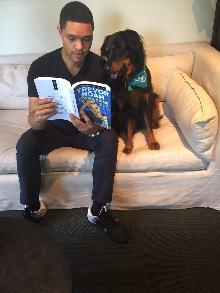 RT @Trevornoah: The wait is over! Fetch your copy of #bornacrime available in-stores and online now! https://t.co/VKZEmlN9wK