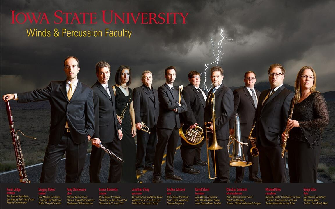 Come study with the wind and percussion faculty at @IowaStateU next year! https://t.co/oD7XM8PpaV