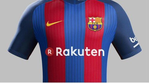 来季からバルセロナの胸スポンサーが「楽天」に! 約72億円! Barcelona's shirt main sponsor will be Rakuten next season! €60m deal! https://t.co/klz8mLy8Hn
