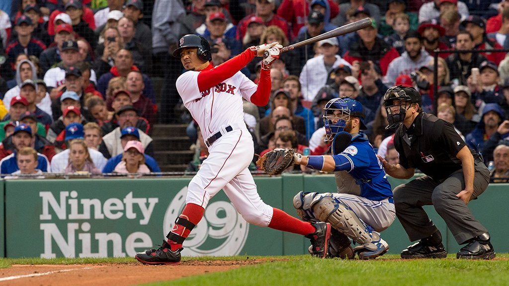 By tomorrow, Mookie Betts could be the first @RedSox MVP since Dustin Pedroia in 2008. https://t.co/zkbZCwRHT8 https://t.co/HXJUa94fmo