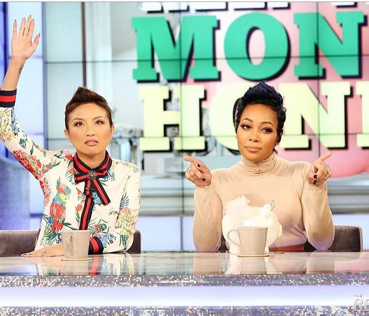 Tuning in every day this week to see my baby @MonicaBrown co-hosting The REAL. ???????????????????? https://t.co/f7Kt9juVeA