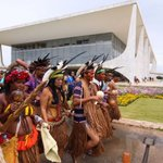 Brazil's Indigenous Protest in Congress, Presidential Palace
