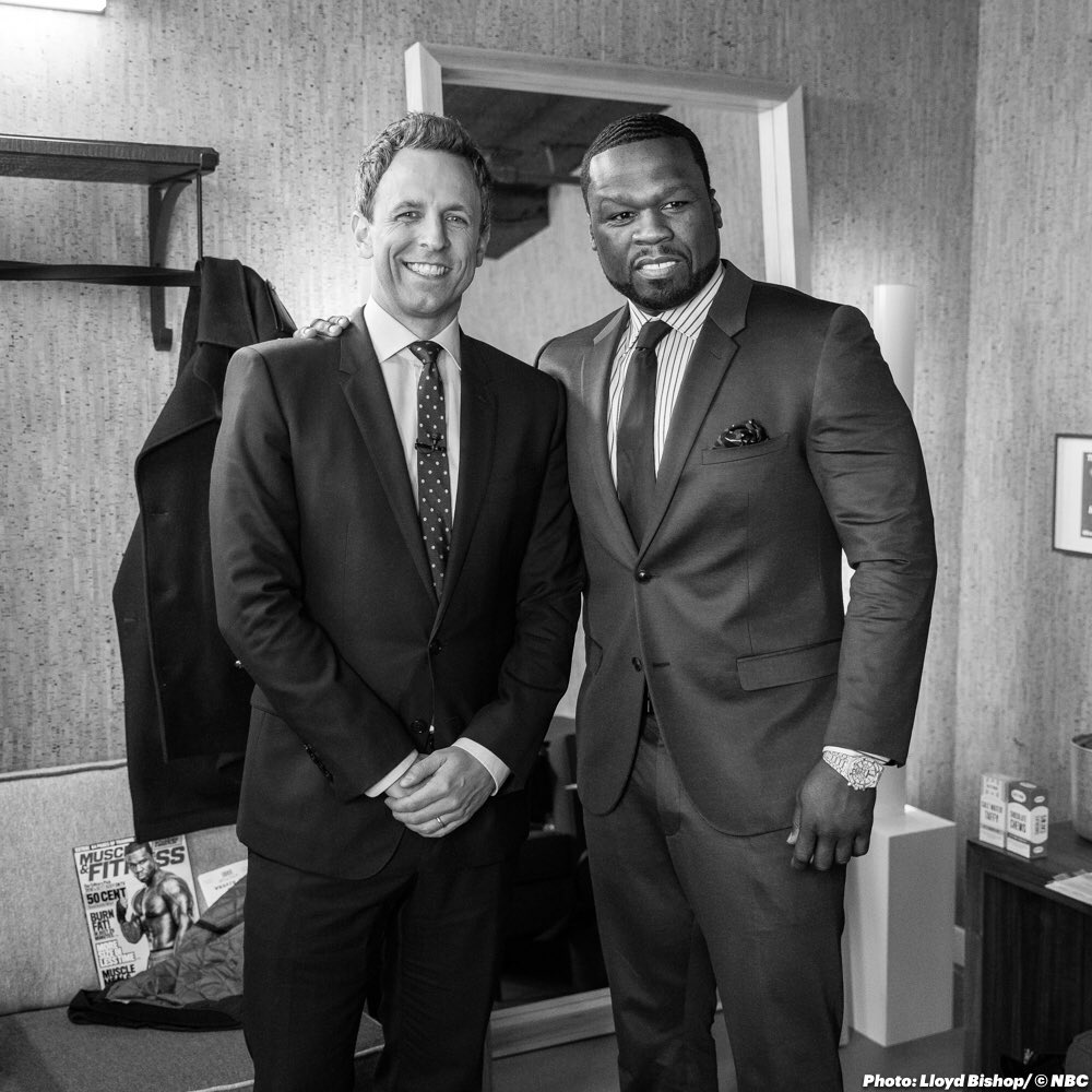 tonight watch SETH MEYERS 12:35PM EST ON NBC #EFFENVODKA https://t.co/EyJtMv7F4p