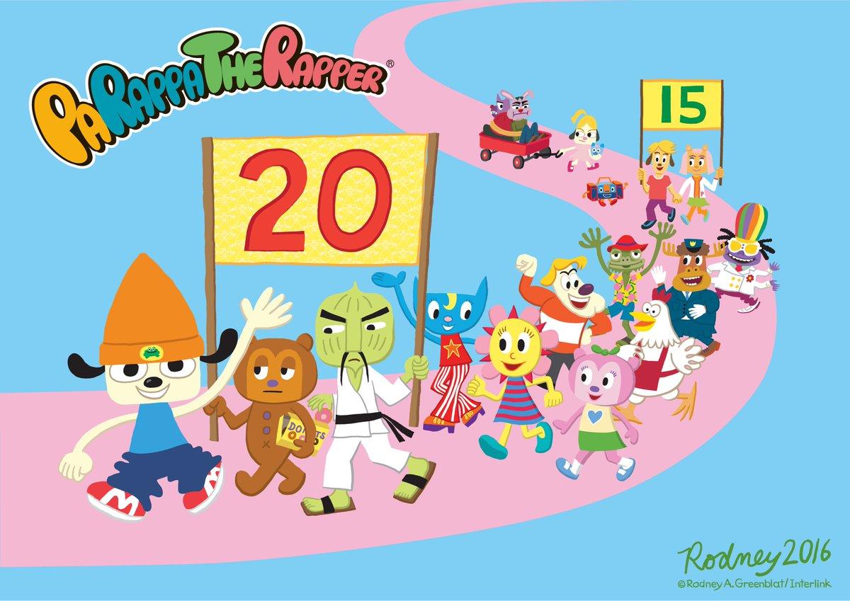 ダブルアニバーサリーイヤー記念企画「ゲーム20周年&アニメ15周年パラッパラッパー アニバーサリーフェス」を開催!#もぐ