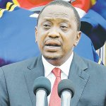 Uhuru heads to Morocco for climate change conference