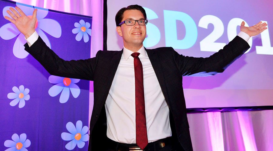 Far-right Sweden Democrats neck-and-neck in poll with 2nd most popular