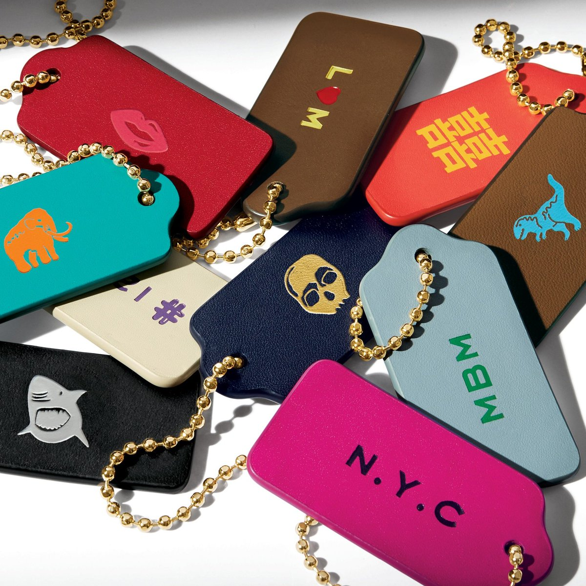 Only In New York Monogram Stamps Exclusively At Our 5th Avenue CoachHouse