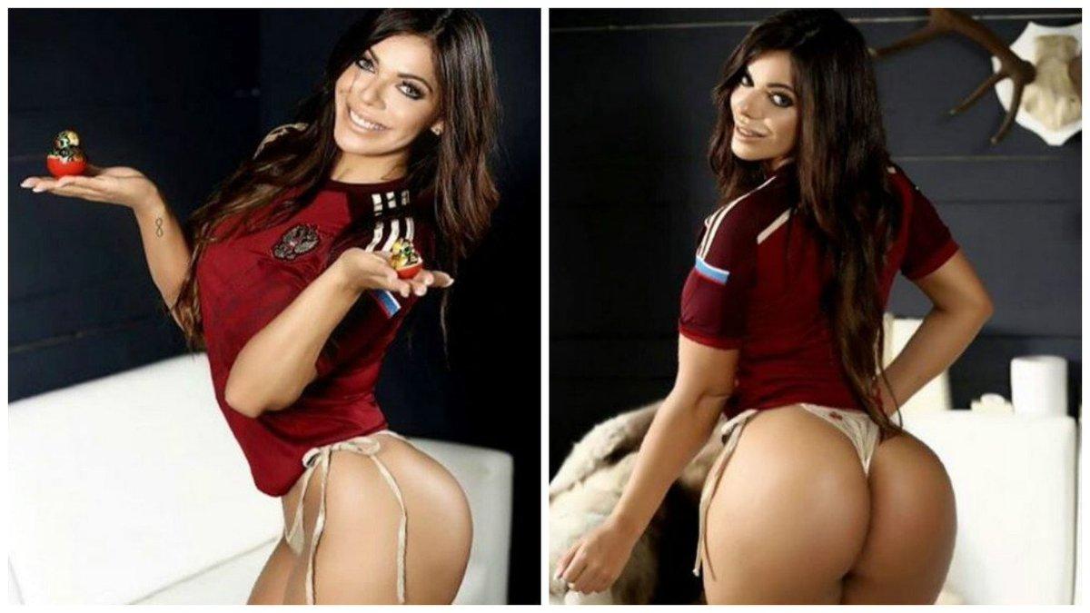 RT @futband: Miss Bumbum quer promover mascote da Copa 2018 https://t.co/PLgYdkd1ya https://t.co/EjzNqnQUfV