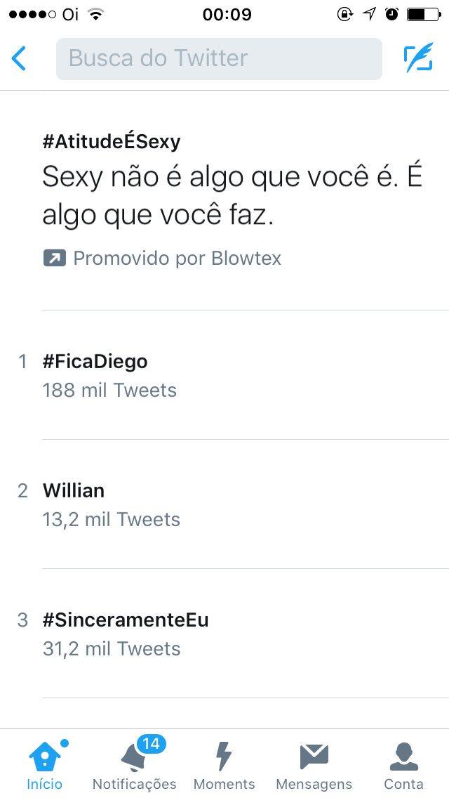 #FicaDiego: Fica Diego