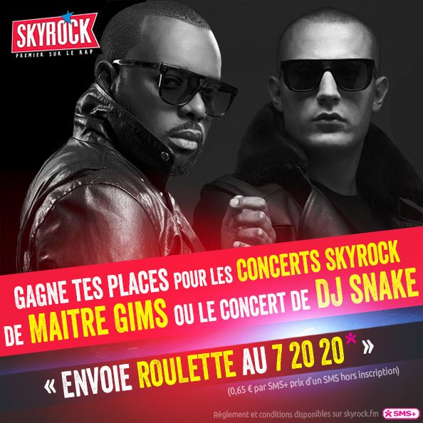 Horaire roulette skyrock christopher gamble indeed