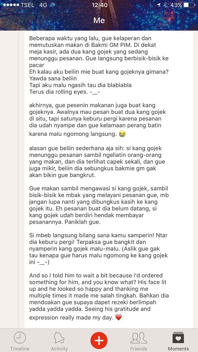 A story about GoJek. https://t.co/evP8uwNYHy