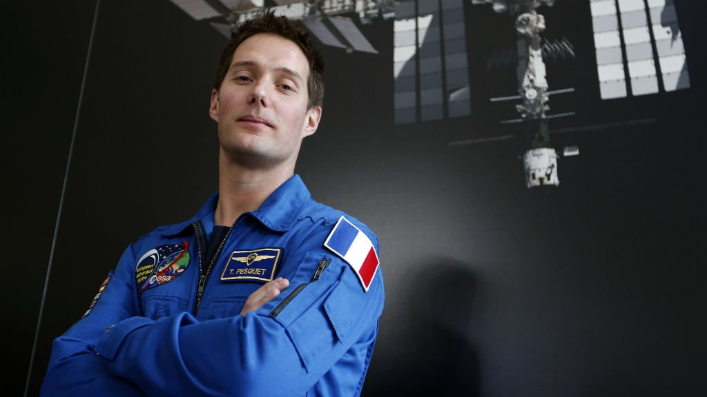 French astronaut makes headlines as country's first spaceman in eight years