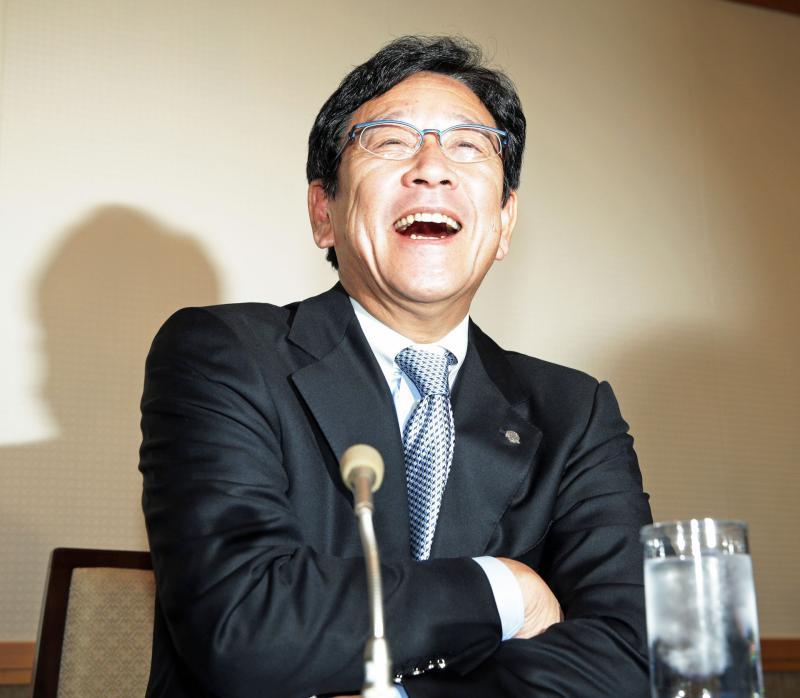 栗山監督に正力賞「球団全員で取らせていただいた」:  日本ハム栗山英樹監督(55)が17日、正力松太郎賞を受賞し、都内の