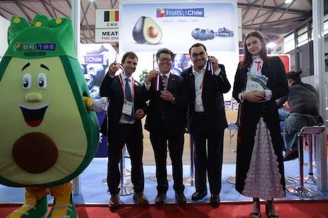 test Twitter Media - The #Chile blueberries and avocados were popular at #FHC after award winning recipes from their chefs in #China #Fruit #Freshproduce #Export https://t.co/aRPQF5oYb8