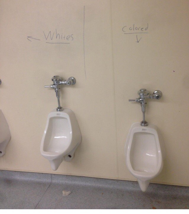 Racist graffiti inside a boys' bathroom at Monte Vista High School in Danville. https://t.co/VyfEpyLTly