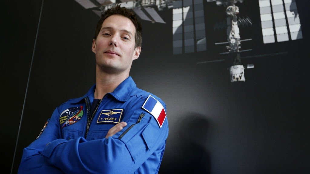 VIDEO -  Space: French astronaut makes headlines as country's first spaceman in eight years