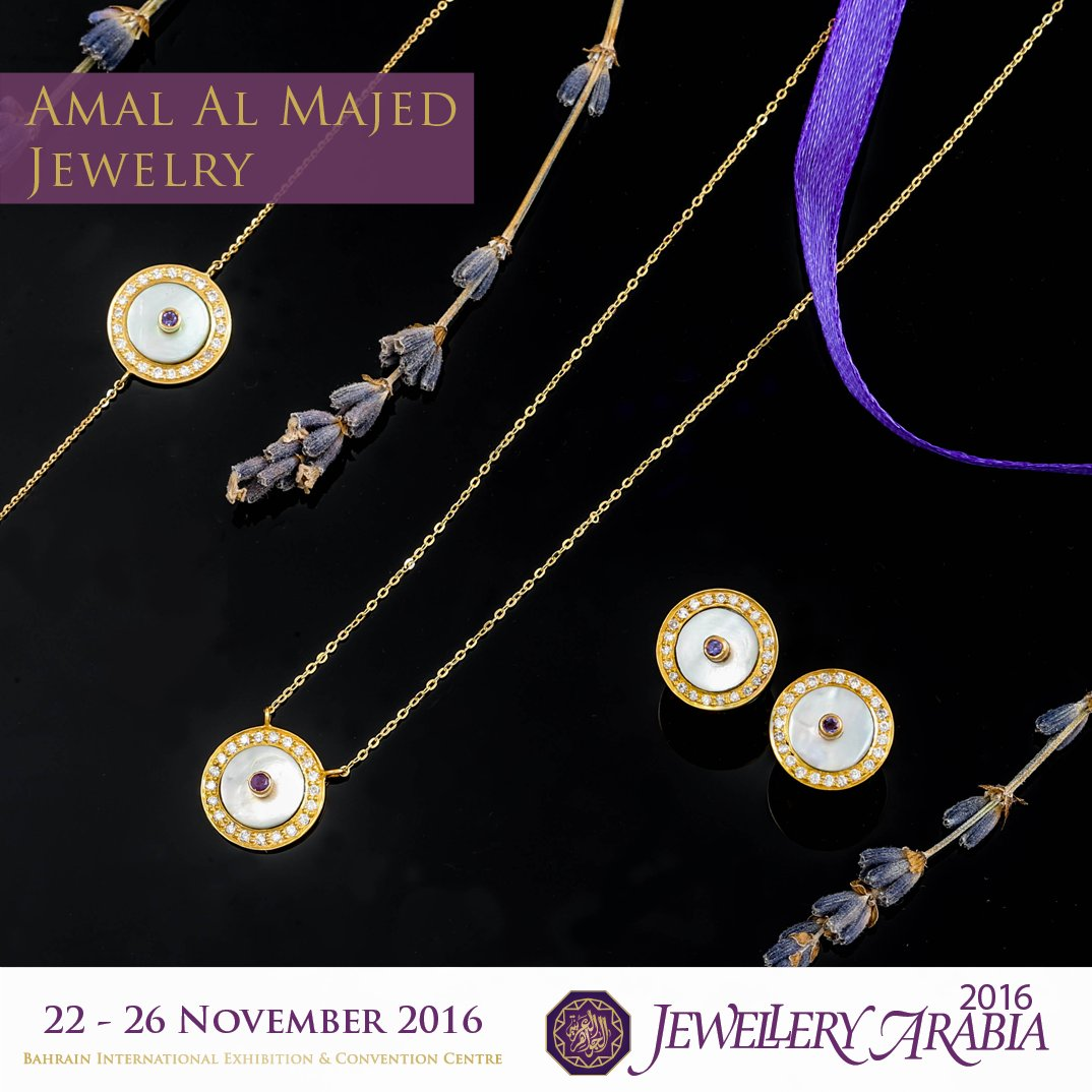 "test Twitter Media - Amal AlMajed is a Bahraini jewellery designer since 2007, she is launching her latest collection ""Toleen"" which means the bright of the moon https://t.co/XJYkXhH0gW"