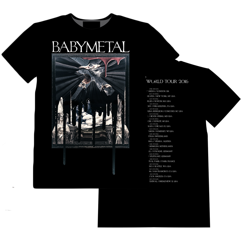 World Tour 2016 merchandise is now available at the Official #BABYMETAL USA Store!!https;//t.co/Q...