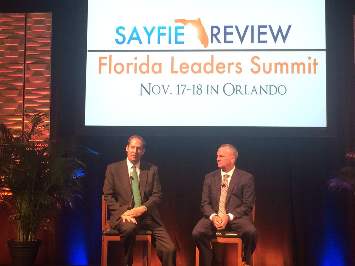 .@joenegronfl and @richardcorcoran addressing the 2016 #sayfiesummit @MyFLHouse @flsenate https://t.co/VH4ymf8NyN