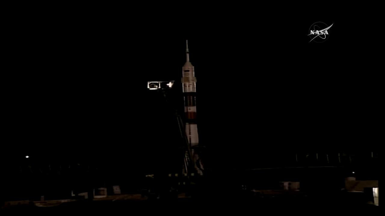 We have LIFTOFF! @AstroPeggy and two crew members leave Earth and head to @Space_Station: https://t.co/f1K1MFG4sN https://t.co/qBCu9a7yVO