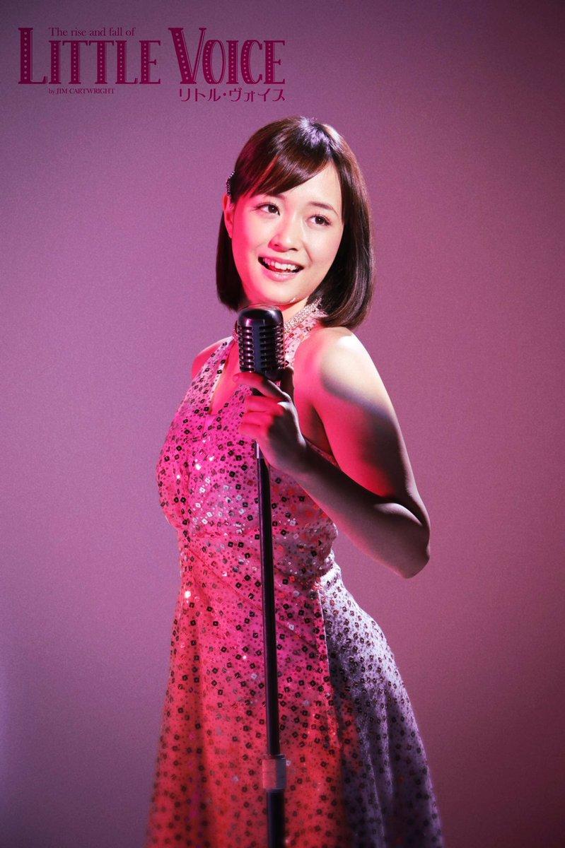 リトル・ヴォイス役、大原櫻子さんの先行ビジュアルを大公開❗️❗️舞台中でライブをするシーンをイメージして撮影した写真です