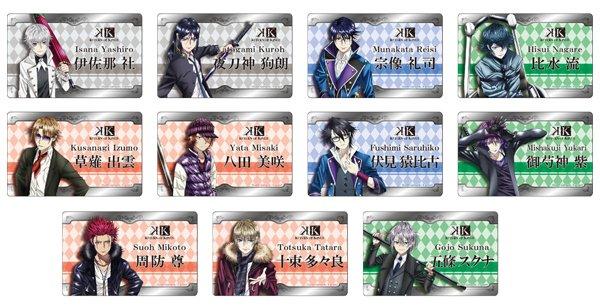 ☆新着☆ 【K RETURN OF KINGS プレートバッジ】 ご予約受付中です♪  #anime_k #neowin