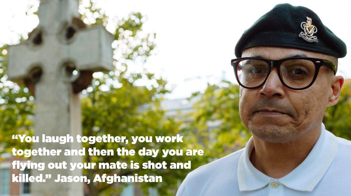 RT @SSAFA: Follow us to show your support for veterans like Jason #gotyourback https://t.co/cVesUeEKbJ
