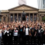 AusMusicTshirtDay: Melbourne music fans set Australian band t-shirt photo record