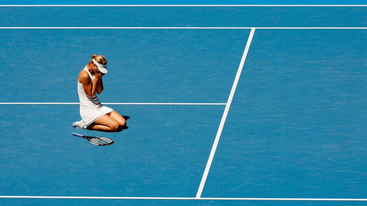 RT @wesupportmasha: 159 days. First it's a dream. Then it's a goal. @MariaSharapova ❤️ #26April #IStoodWithMaria https://t.co/aRmgvs9UjW