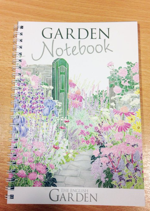 F+RT! Win Garden notebook, gardening quotes and tips FreebieFriday