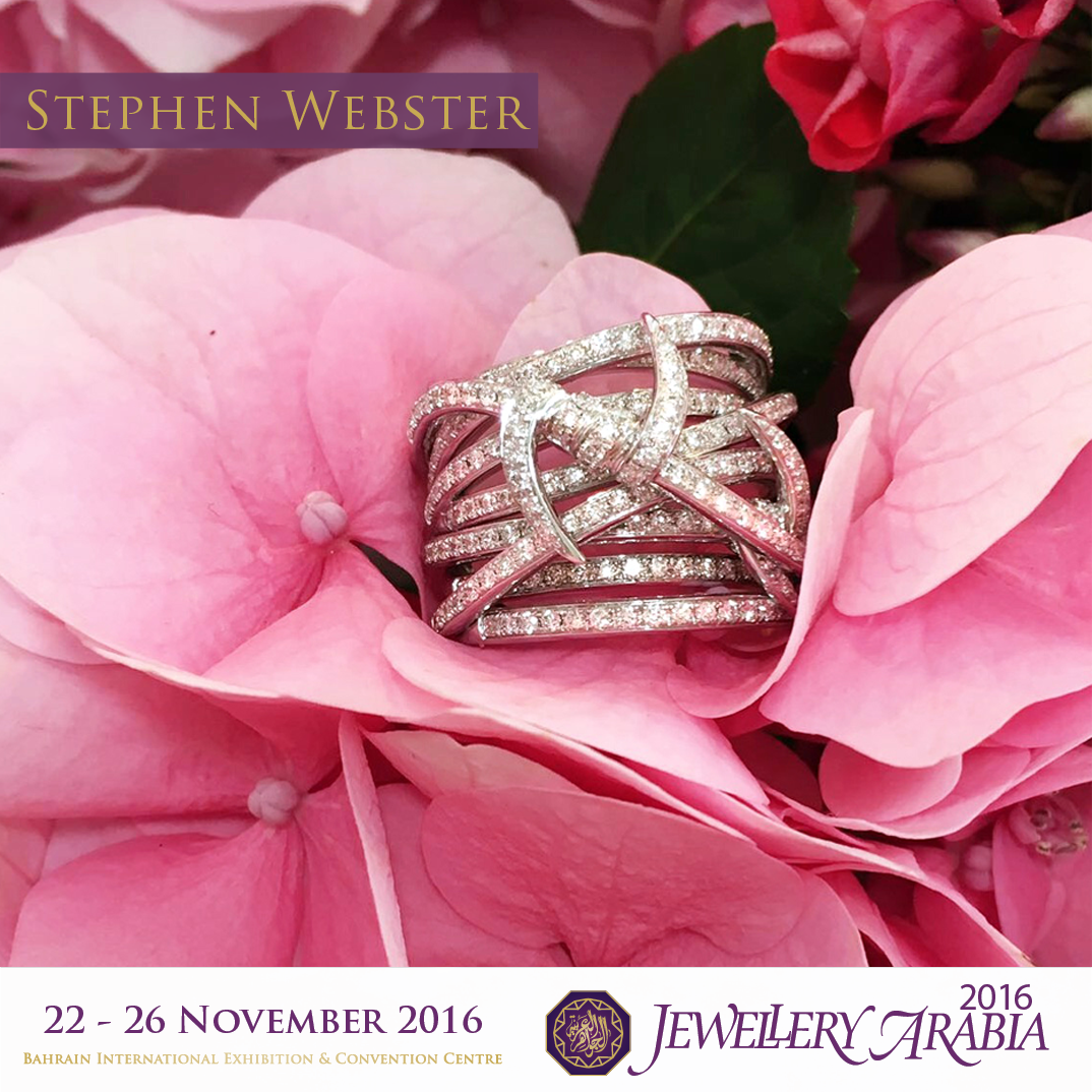 test Twitter Media - Get wrapped-up in #StephenWebster's Forget Me Knot Bandeau Ring, set in all diamonds. Available at #JewelleryArabia. https://t.co/0GWe34UUir