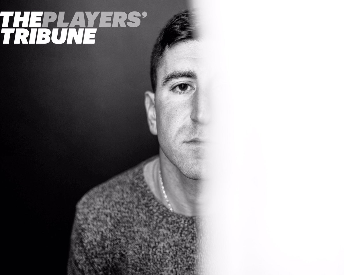 Thank you @PlayersTribune for providing me w/ a platform to share my story. https://t.co/s4WFyZhgCA https://t.co/71BhXyOLTp