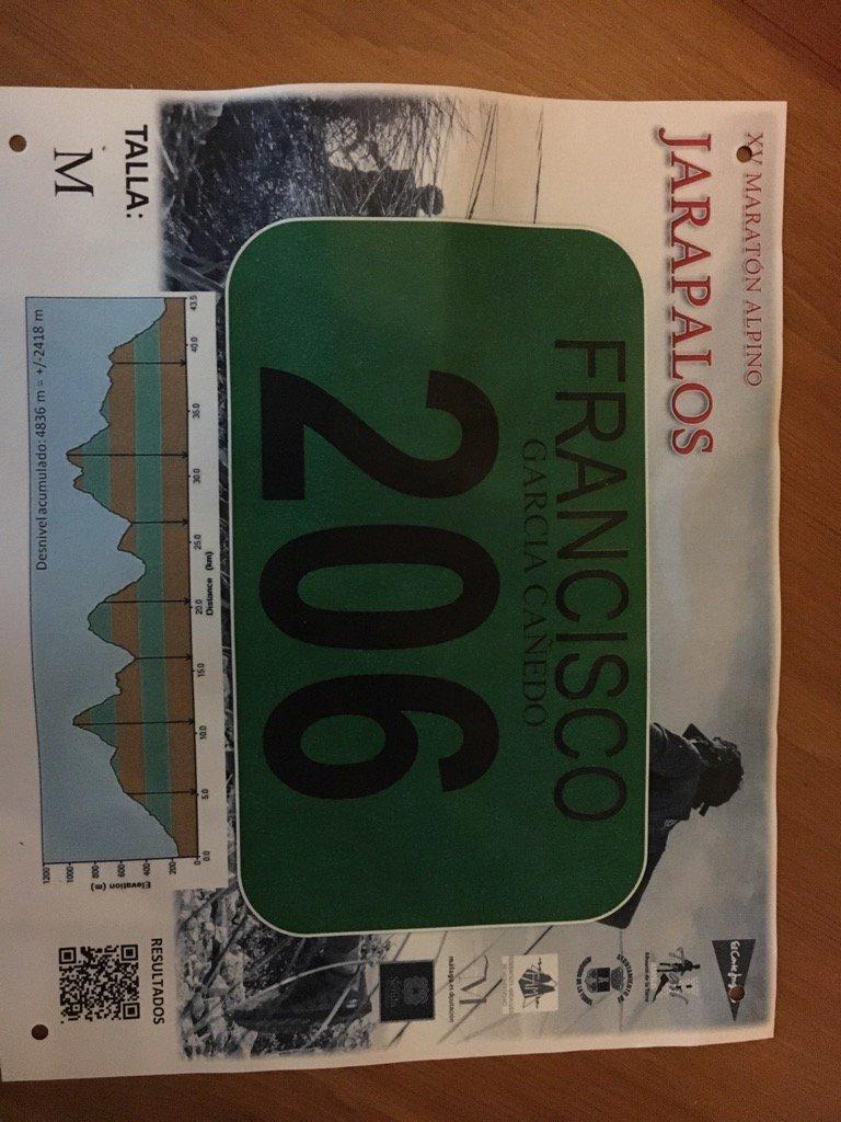 Imagen Maratón Alpino de Jarapalos