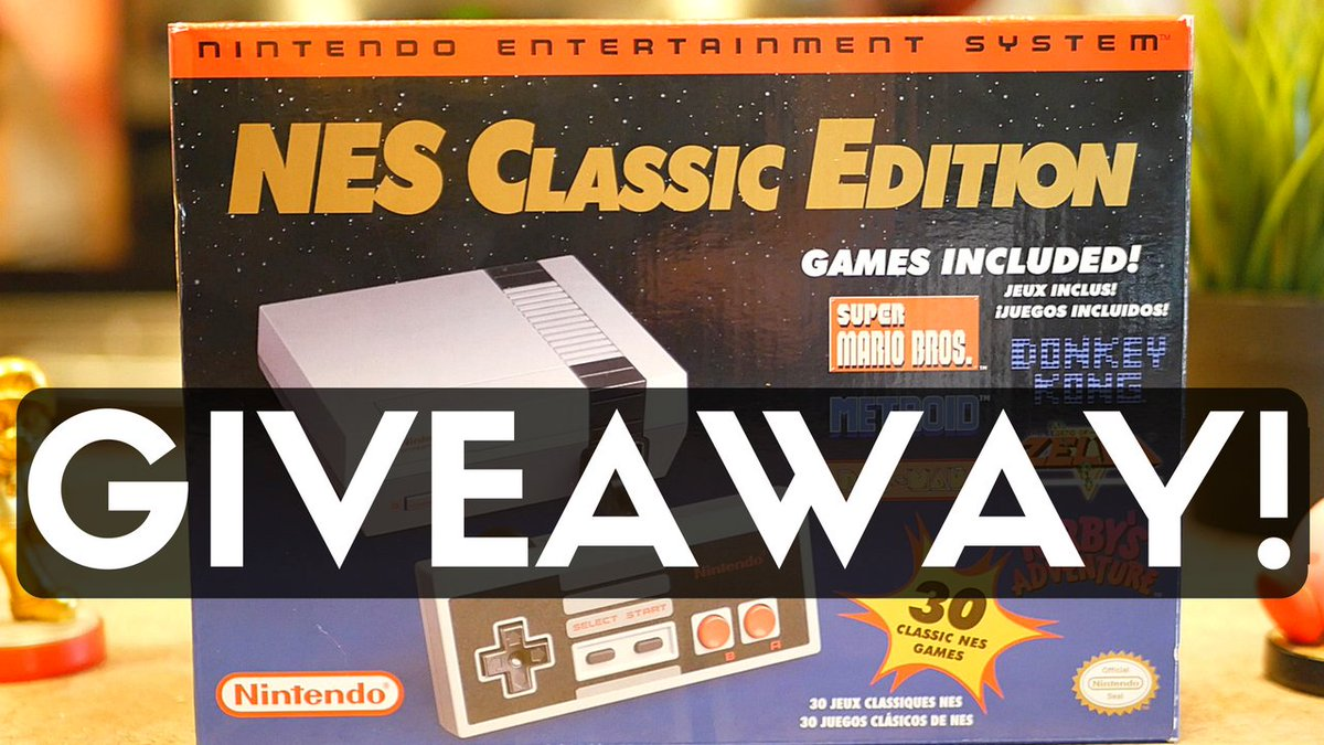 NES Classic Edition #giveaway is LIVE! Enter now! https://t.co/4pDvzEkJPJ #nesclassic #sweeps @NintendoAmerica https://t.co/cxYuJVJsQM