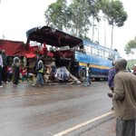 Two dead after Nyamira Express bus rams into private car in Kisii
