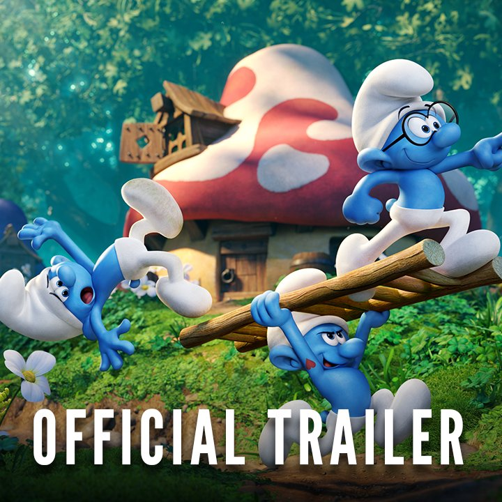 The wait is over! Watch the new #SmurfsMovie trailer now and see it in theaters this April. https://t.co/aGkE5MWpFY