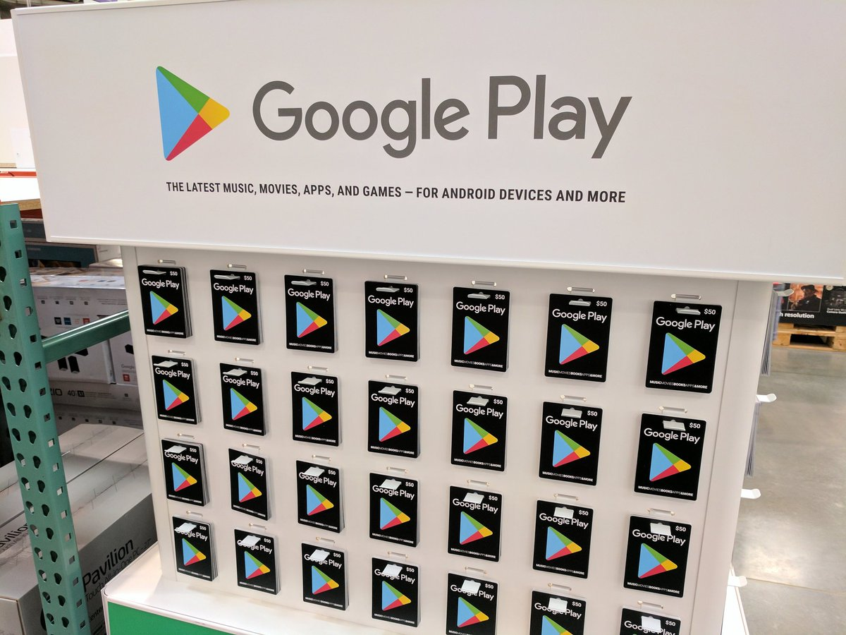 Google Play Gift Cards Discounted At Costco Deal Scoopnest