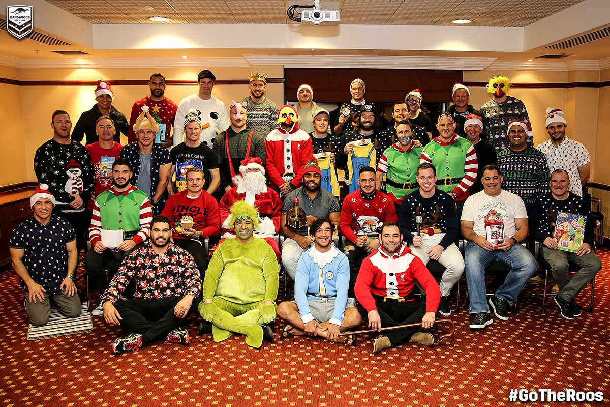 Early Happy Christmas from the @Kangaroos