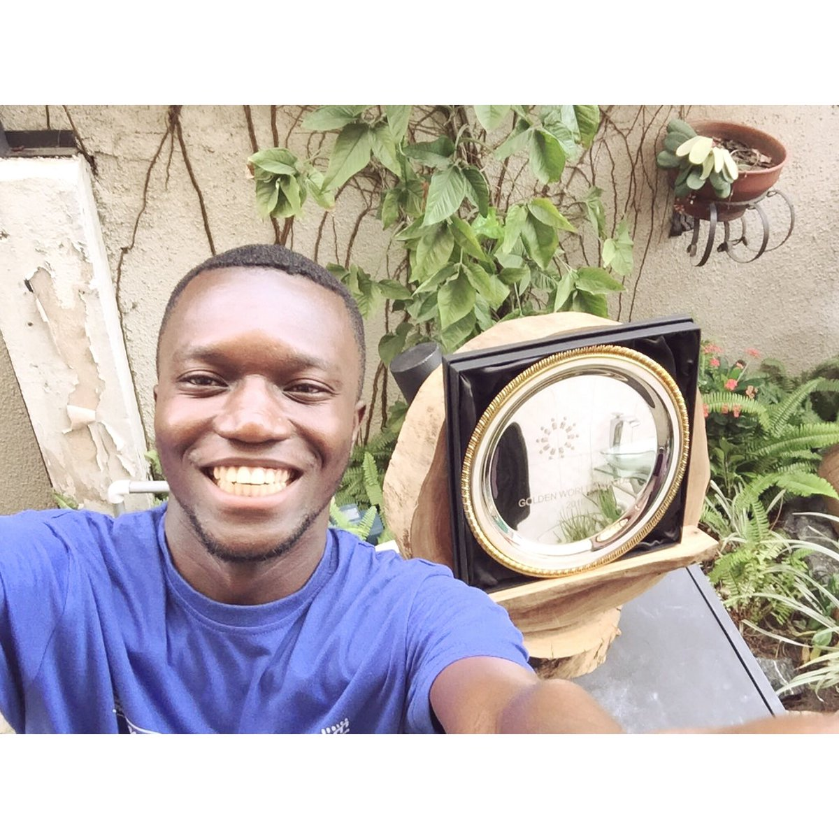 In celebrating our IPRA Award,  kindly like and retweet  to help me win the #IamStratcommAfrica selfie challenge.