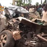 Two dead after a bus rams into private car, Kisii-Kericho road