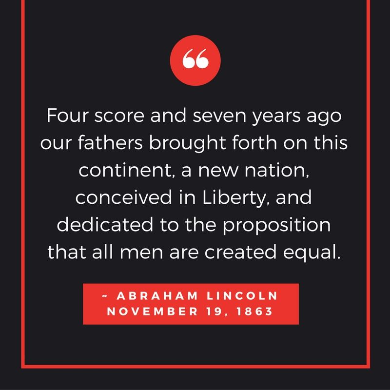 On this day in 1863, Abraham Lincoln delivered the Gettysburg Address. #trivia #themoreyouknow Good morning! https://t.co/ffamkTYSRj