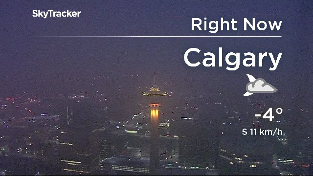 A Cool Day Ahead Calgary Yyc T