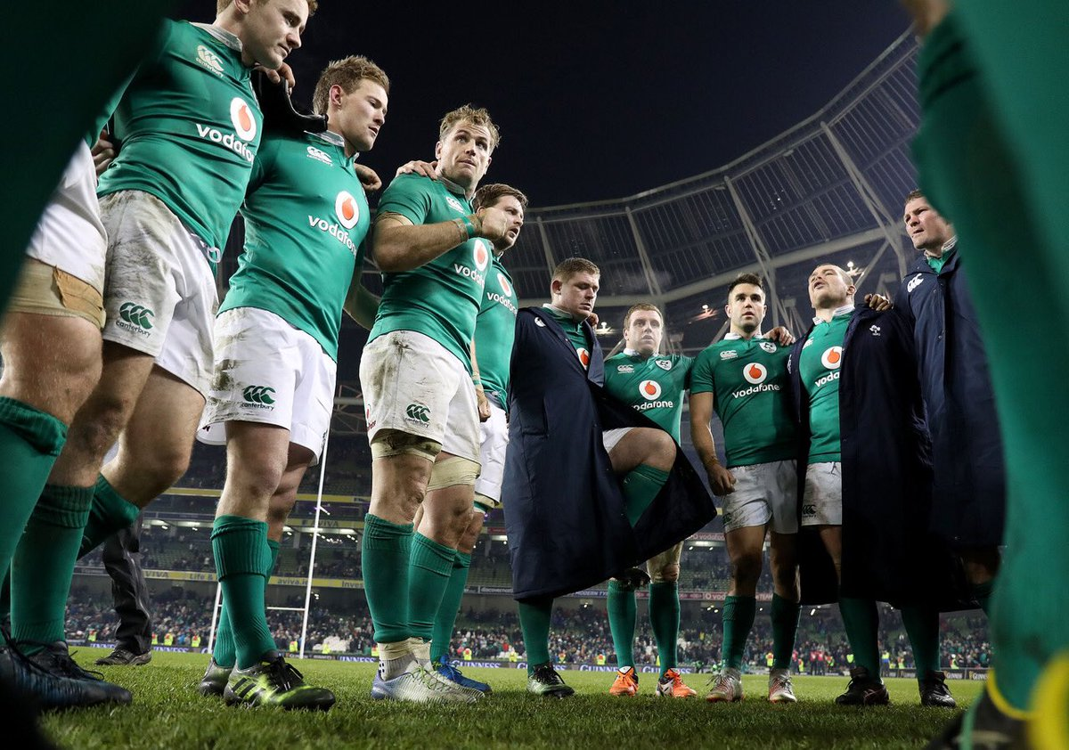 No doubt, they're an amazing team but we'll have them next time. No Fear. So proud #ForVictory #IREvNZL https://t.co/un9wfQML4b