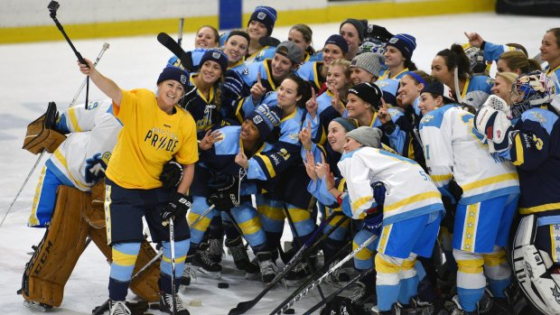Players respond to women's hockey league salary cut