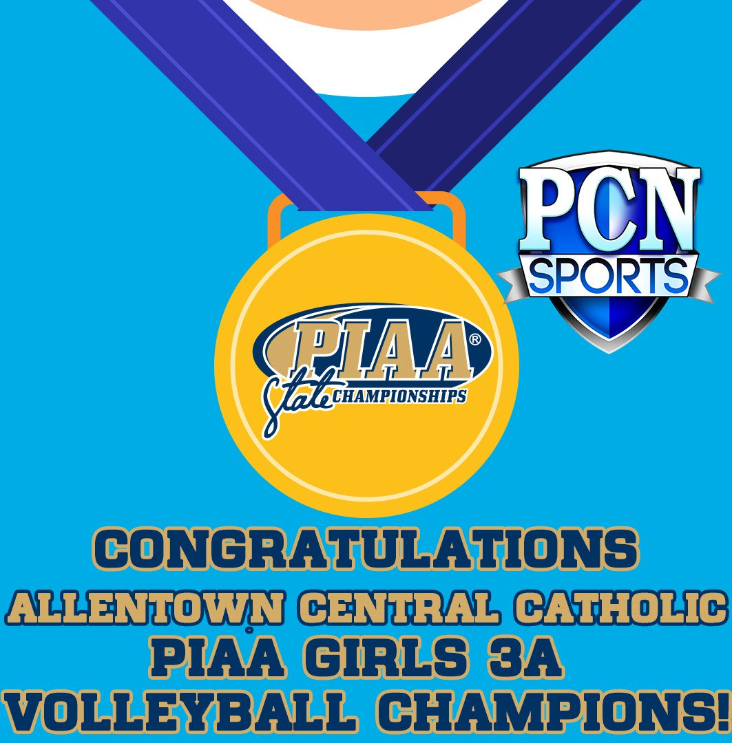 Congratulations to @VikettesVball - PIAA Girls 3A Volleyball Champion! #PIAAONPCN https://t.co/hAbi6J3rLz