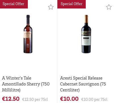 Lovely wine offers in store this week! https://t.co/xMwBwOjYIx